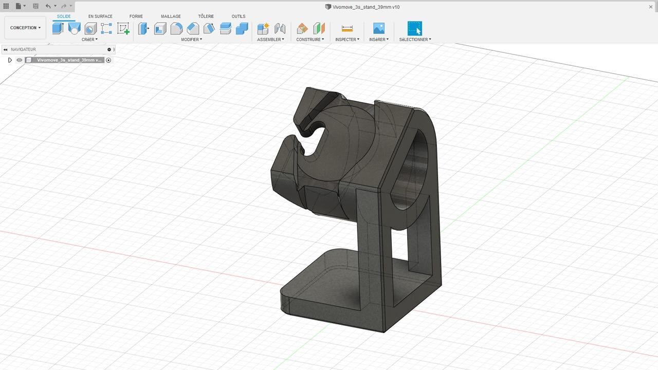 Conception 3D sur Autodesk Fusion 360