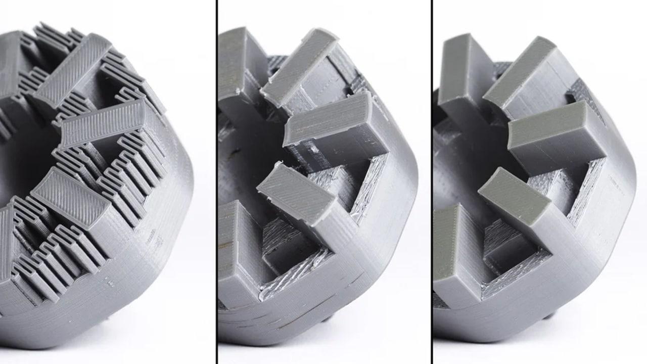 Retirer les supports d'impression 3D