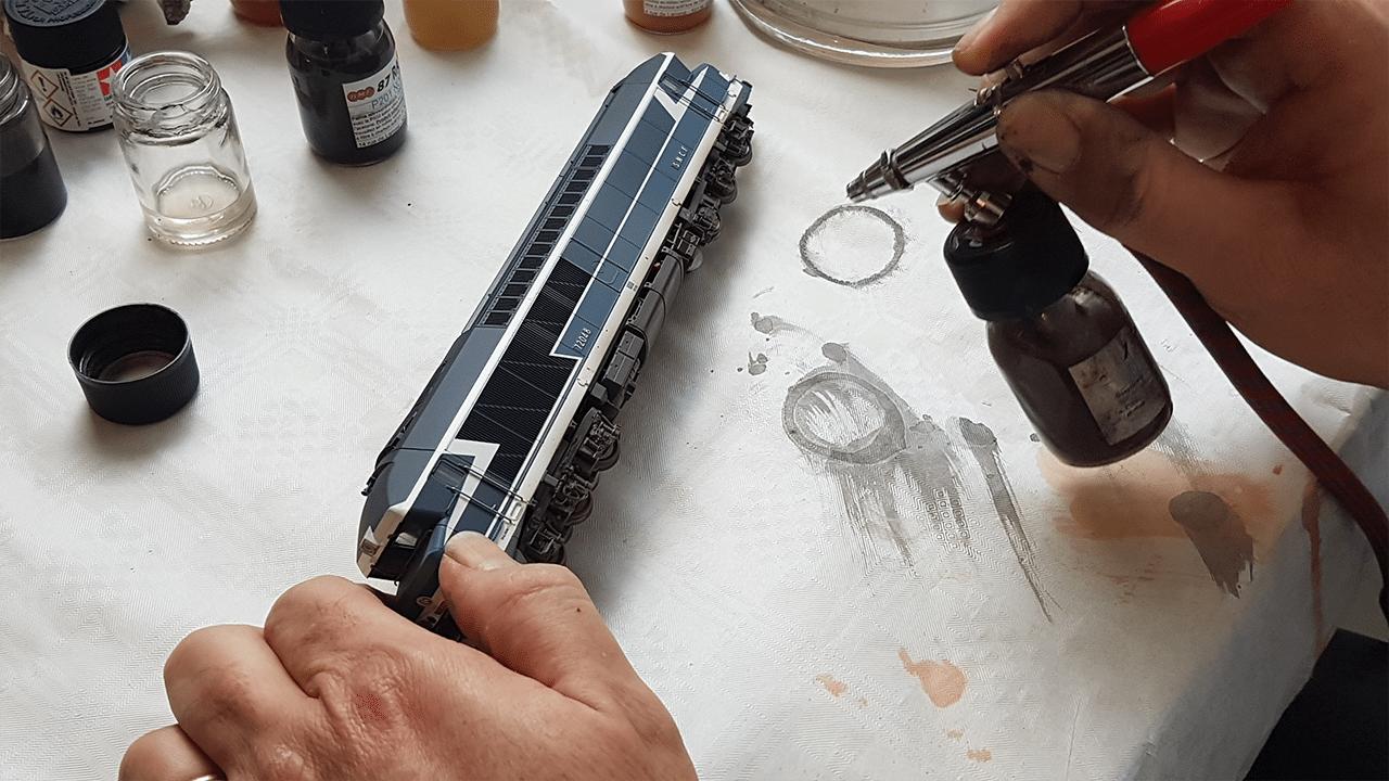 La peinture à l'aérographe