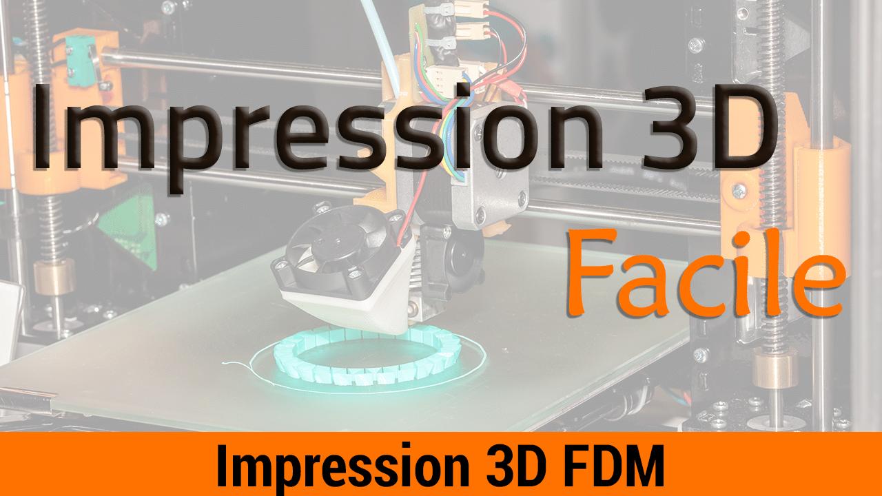 Formation Impression 3D Facile